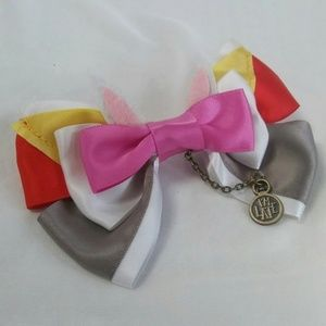 Alice In Wonderland I'm Late! Hair Bow Barrette